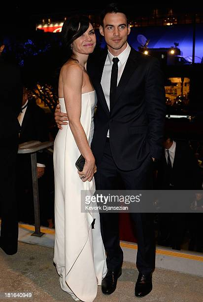 Actress Julianna Margulies and husband Keith Lieberthal attend the Governors Ball during the 65th Annual Primetime Emmy Awards at Nokia Theatre LA...