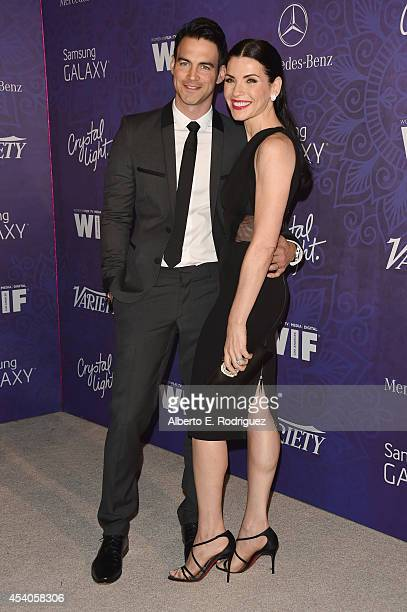 Actress Julianna Margulies and Keith Lieberthal attend Variety and Women in Film Emmy Nominee Celebration powered by Samsung Galaxy on August 23 2014...