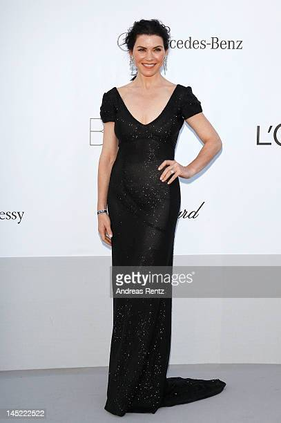 Actress Julianna Margulies arrives at the 2012 amfAR's Cinema Against AIDS during the 65th Annual Cannes Film Festival at Hotel Du Cap on May 24 2012...