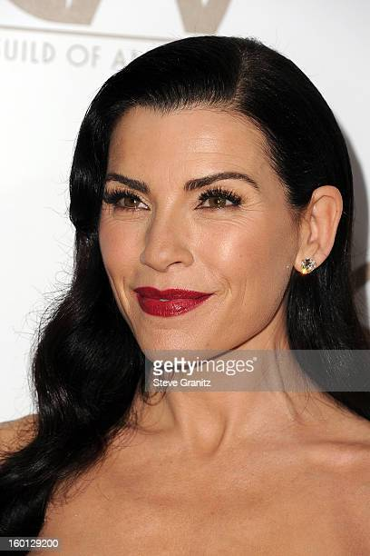 Actress Julianna Margulies arrives at the 24th Annual Producers Guild Awards held at The Beverly Hilton Hotel on January 26, 2013 in Beverly Hills,...
