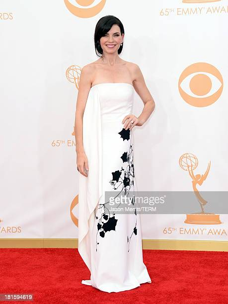 Actress Julianna Margulies arrives at the 65th Annual Primetime Emmy Awards held at Nokia Theatre LA Live on September 22 2013 in Los Angeles...