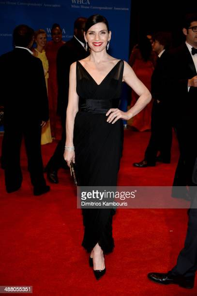 Actress Julianna Margulies attends the 100th Annual White House Correspondents' Association Dinner at the Washington Hilton on May 3 2014 in...