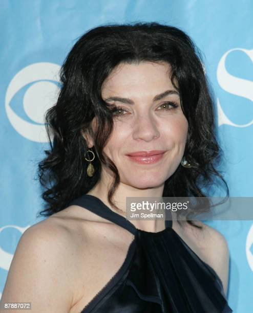 Actress Julianna Margulies attends the 2009 CBS Upfront at Terminal 5 on May 20 2009 in New York City