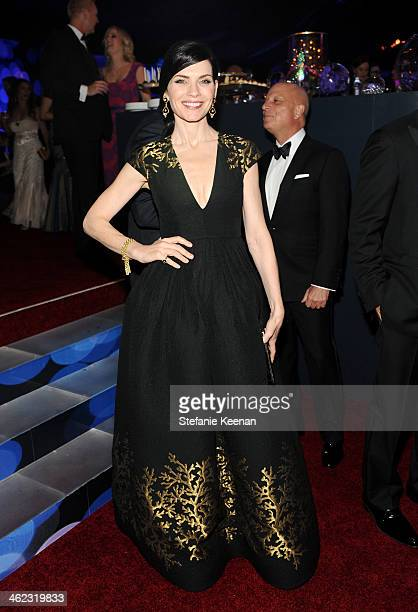 Actress Julianna Margulies attends the 2014 InStyle And Warner Bros. 71st Annual Golden Globe Awards Post-Party at The Beverly Hilton Hotel on...