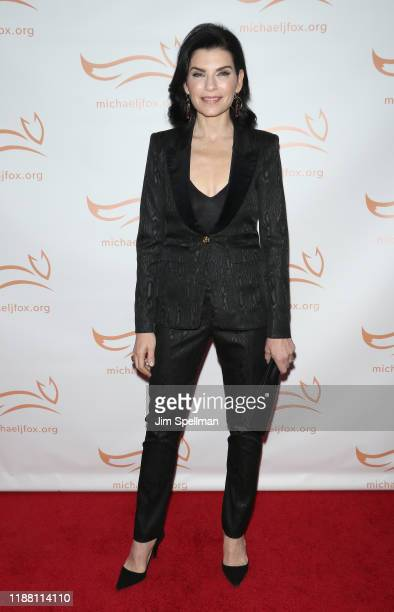 Actress Julianna Margulies attends the 2019 A Funny Thing Happened On The Way To Cure Parkinson's at the Hilton New York on November 16 2019 in New...