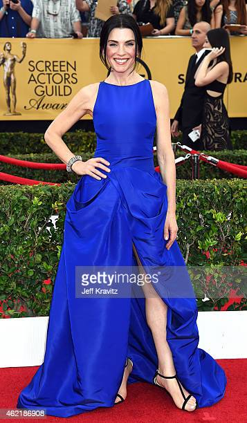 Actress Julianna Margulies attends the 21st Annual Screen Actors Guild Awards at The Shrine Auditorium on January 25 2015 in Los Angeles California