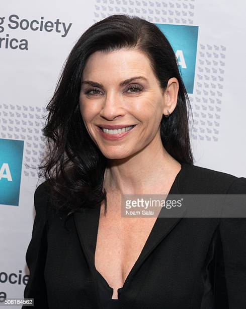 Actress Julianna Margulies attends the 31st annual Artios Awards at Hard Rock Cafe Times Square on January 21 2016 in New York City