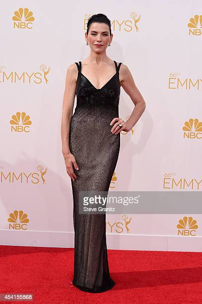 Actress Julianna Margulies attends the 66th Annual Primetime Emmy Awards held at Nokia Theatre LA Live on August 25 2014 in Los Angeles California