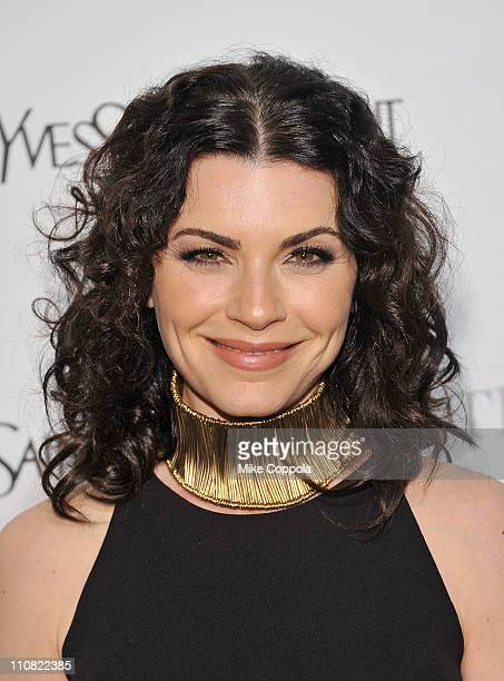Actress Julianna Margulies attends the Metropolitan Opera's gala premiere of Rossini's Le Comte Ory at The Metropolitan Opera House on March 24 2011...