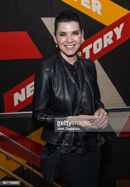 Actress Julianna Margulies attends The New 42nd Street 2018 Gala at The New Victory Theater on May 12 2018 in New York City