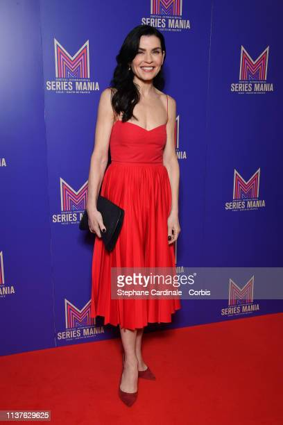 Actress Julianna Margulies attends the Opening Ceremony of the 2nd Series Mania Festival In Lille on March 22 2019 in Lille France