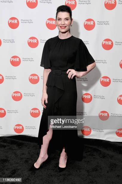 Actress Julianna Margulies attends the Physicians for Human Rights 2019 Gala at Mandarin Oriental Hotel on April 11 2019 in New York City