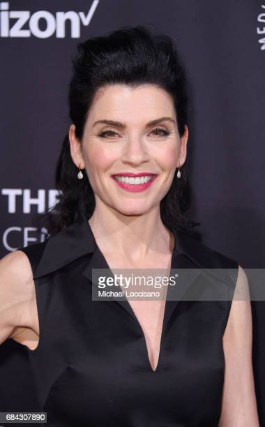 Actress Julianna Margulies attends the The Paley Honors Celebrating Women In Television event at Cipriani Wall Street at on May 17 2017 in New York...