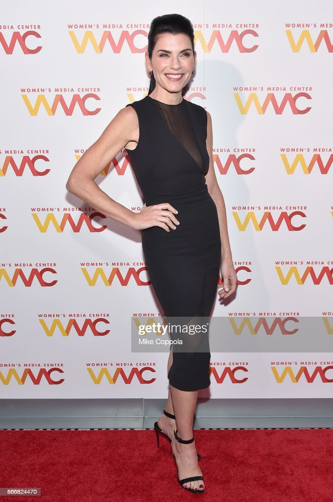 Actress Julianna Margulies attends the Women's Media Center 2017 Women's Media Awards at Capitale on October 26, 2017 in New York City.