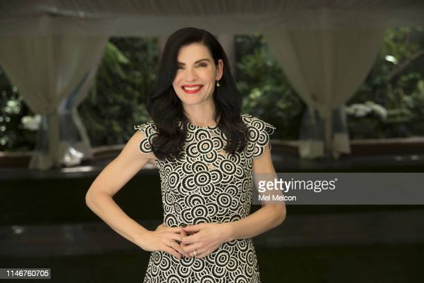 Actress Julianna Margulies is photographed for Los Angeles Times on April 8 2019 in Beverly Hills California PUBLISHED IMAGE CREDIT MUST READ Mel...