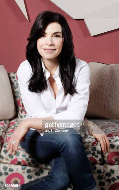 Actress Julianna Margulies is photographed for Los Angeles Times on April 29 2013 in New York City PUBLISHED IMAGE CREDIT MUST READ Jay L...