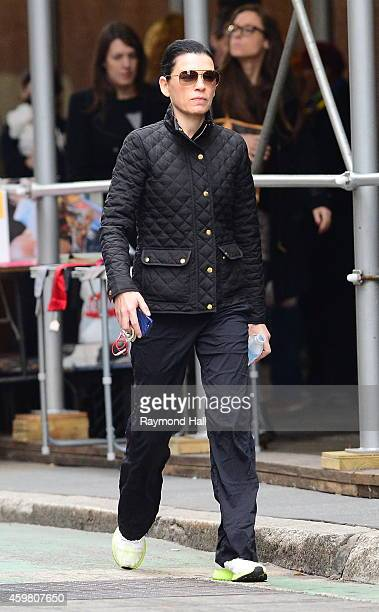 Actress Julianna Margulies is seen walking in Soho on December 1 2014 in New York City