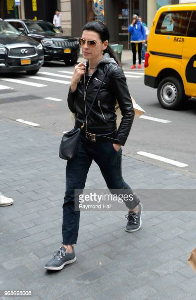 Actress Julianna Margulies is seen walking in Soho on June 6 2018 in New York City