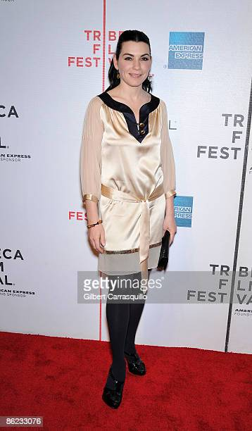 """Actress Julianna Margulies the premiere of """"City Island"""" during the 8th Annual Tribeca Film Festival at the BMCC Tribeca Performing Arts Center on..."""