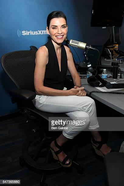 Actress Julianna Margulies visits at SiriusXM Studios on July 14 2016 in New York City