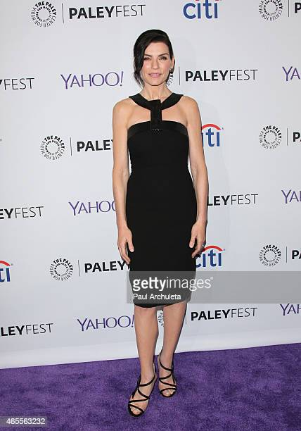 Actress Julianna Marguliess attends the 32nd annual PALEYFEST LA featuring 'The Good Wife' presented by the Paley Center for media at The Dolby...