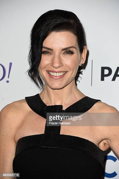 Actress Julianna Margullies arrives at The Paley Center For Media's 32nd Annual PALEYFEST LA The Good Wife at Dolby Theatre on March 7 2015 in...