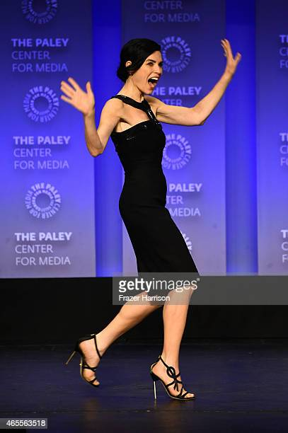 Actress Julianna Margullies on stage at The Paley Center For Media's 32nd Annual PALEYFEST LA 'The Good Wife' at Dolby Theatre on March 7 2015 in...