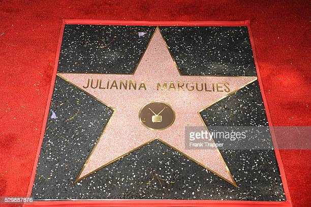 Actress Julianna Maugulies Star on the Hollywood Walk of Fame