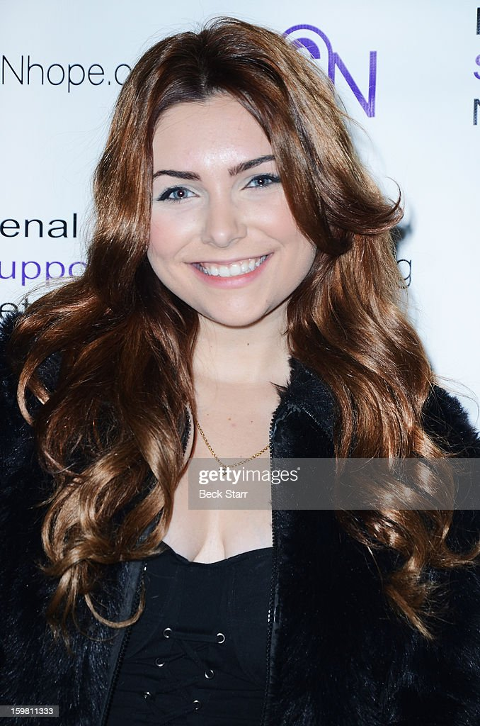 Actress Julianna Rose arrives at 14th Annual RSN's Renal Teen Prom at Notre Dame High School on January 20, 2013 in Sherman Oaks, California.