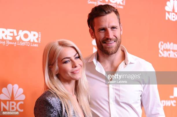 Actress Julianne Hough and husband Brooks Laich attend The Trevor Project's 2017 TrevorLIVE LA at The Beverly Hilton Hotel on December 3 2017 in...