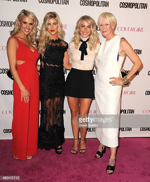 Actress Julianne Hough and sisters Sharee Hough and Marabeth HoughEditor in Chief Cosmopolitan Joanna Coles arrives at the Cosmopolitan Magazine's...