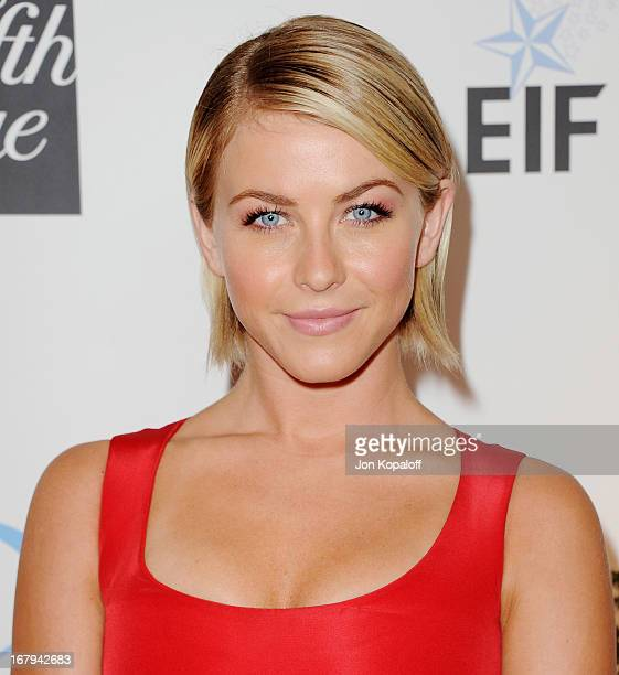 Actress Julianne Hough arrives at An Unforgettable Evening benefiting EIF's Women's Cancer Research Fund at the Beverly Wilshire Four Seasons Hotel...