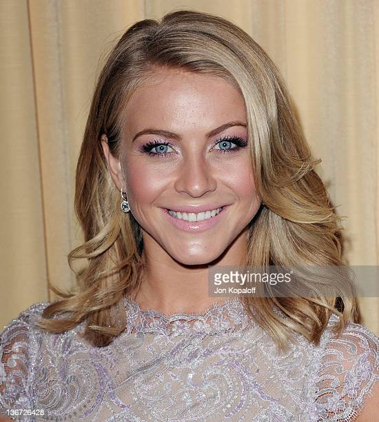 "Actress Julianne Hough arrives at Forevermark And InStyle Golden Globes Event ""A Promise Of Beauty And Brilliance"" at the Beverly Hills Hotel on..."