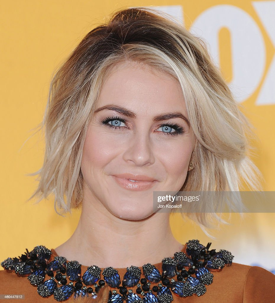 Actress Julianne Hough arrives at FOX's Cause For Paws: An All-Star Dog Spectacular at The Barker Hanger on November 22, 2014 in Santa Monica, California.