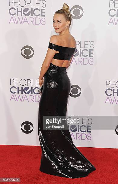 Actress Julianne Hough arrives at People's Choice Awards 2016 at Microsoft Theater on January 6 2016 in Los Angeles California