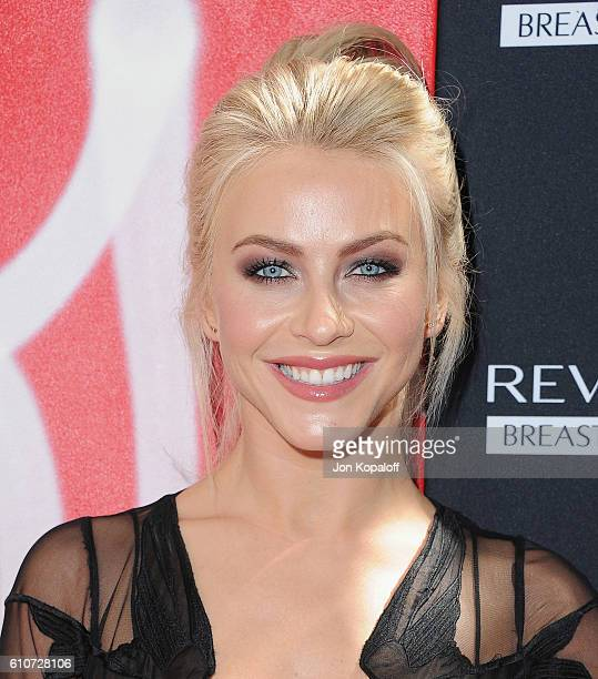 Actress Julianne Hough arrives at Revlon's Annual Philanthropic Luncheon at Chateau Marmont on September 27 2016 in Los Angeles California