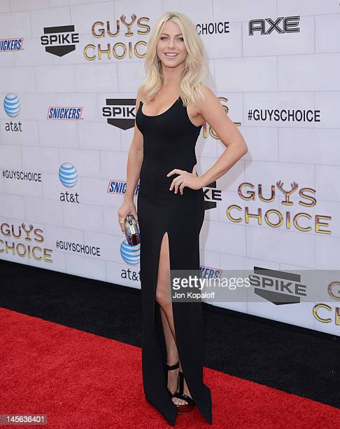 Actress Julianne Hough arrives at Spike TV's 6th Annual 'Guys Choice' Awards at Sony Studios on June 2 2012 in Los Angeles California