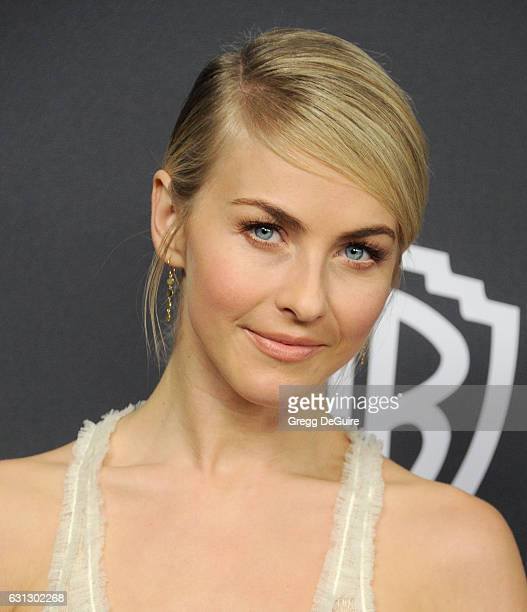 Actress Julianne Hough arrives at the 18th Annual PostGolden Globes Party hosted by Warner Bros Pictures and InStyle at The Beverly Hilton Hotel on...