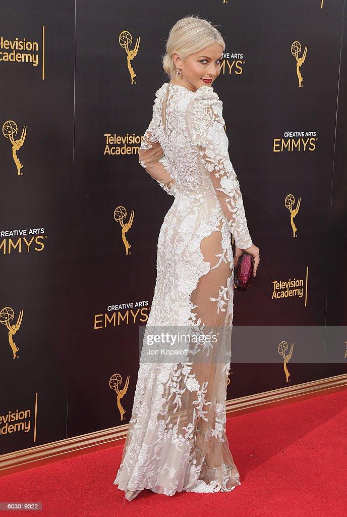 2016 Creative Arts Emmy Awards - Day 2 - Arrivals : News Photo