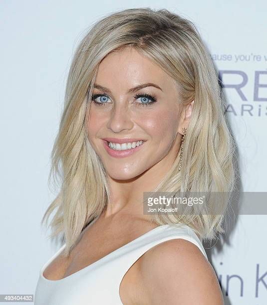 Actress Julianne Hough arrives at the 22nd Annual ELLE Women In Hollywood Awards at Four Seasons Hotel Los Angeles at Beverly Hills on October 19...