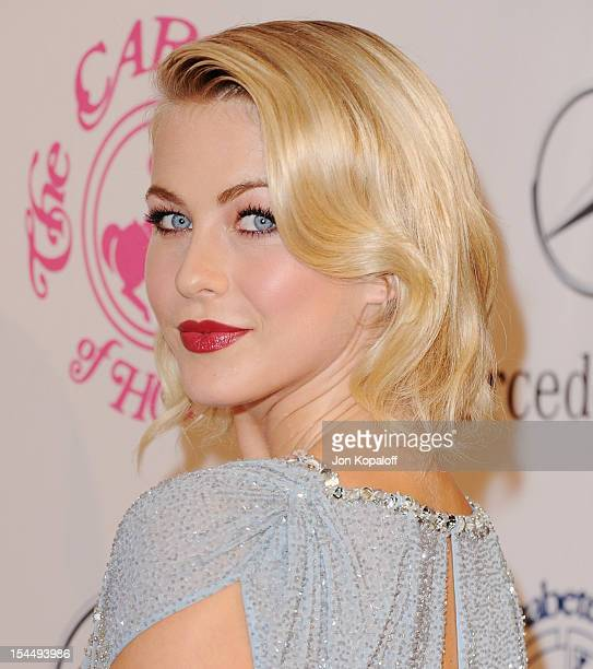 Actress Julianne Hough arrives at the 26th Anniversary Carousel Of Hope Ball at The Beverly Hilton Hotel on October 20, 2012 in Beverly Hills,...
