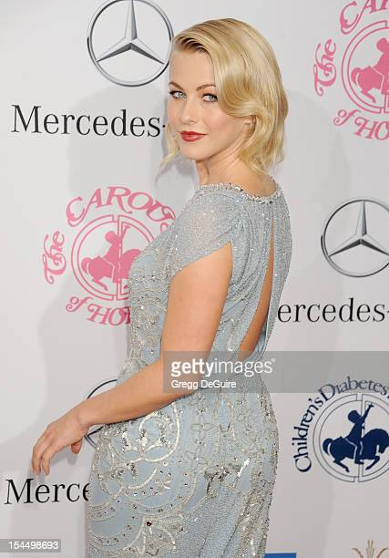 Actress Julianne Hough arrives at the 26th Anniversary Carousel Of Hope Ball presented by MercedesBenz at The Beverly Hilton Hotel on October 20 2012...