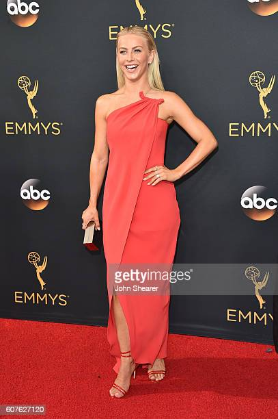 Actress Julianne Hough arrives at the 68th Annual Primetime Emmy Awards at Microsoft Theater on September 18, 2016 in Los Angeles, California.