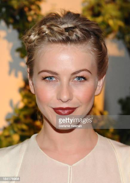 Actress Julianne Hough attends ELLE's 19th Annual Women In Hollywood Celebration at the Four Seasons Hotel on October 15 2012 in Beverly Hills...