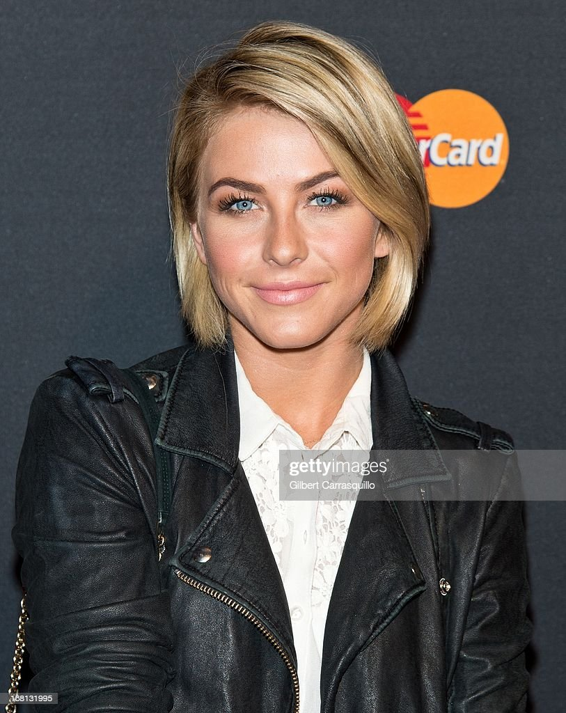 Actress Julianne Hough attends MasterCard Priceless premieres presents Justin Timberlake at Roseland Ballroom on May 5, 2013 in New York City.