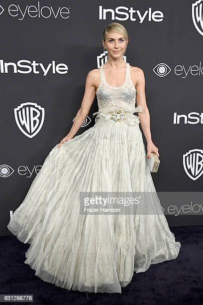 Actress Julianne Hough attends the 18th Annual PostGolden Globes Party hosted by Warner Bros Pictures and InStyle at The Beverly Hilton Hotel on...