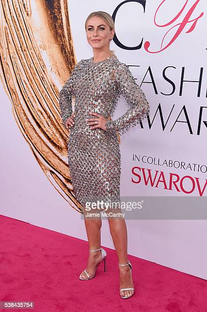 Actress Julianne Hough attends the 2016 CFDA Fashion Awards at the Hammerstein Ballroom on June 6 2016 in New York City