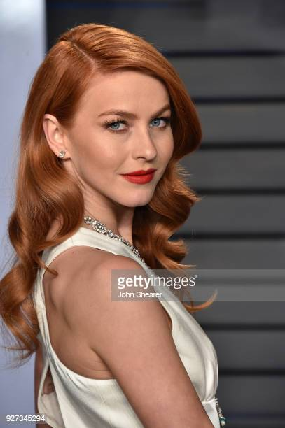 Actress Julianne Hough attends the 2018 Vanity Fair Oscar Party hosted by Radhika Jones at Wallis Annenberg Center for the Performing Arts on March 4...