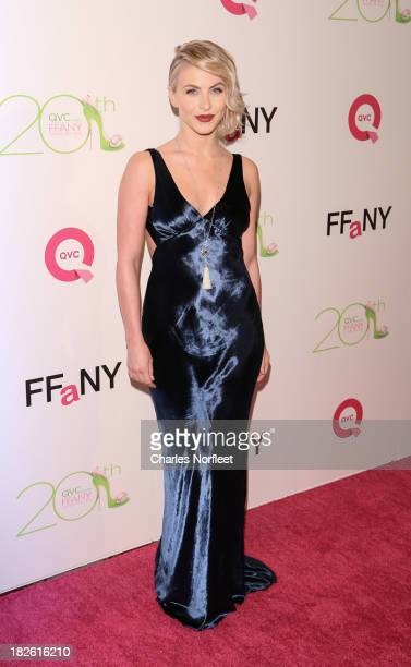 Actress Julianne Hough attends the 20th annual FFANY Shoes On Sale Gala at The Waldorf Astoria Hotel on October 1 2013 in New York City