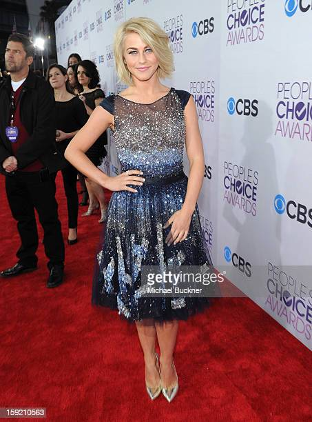 Actress Julianne Hough attends the 39th Annual People's Choice Awards at Nokia Theatre L.A. Live on January 9, 2013 in Los Angeles, California.